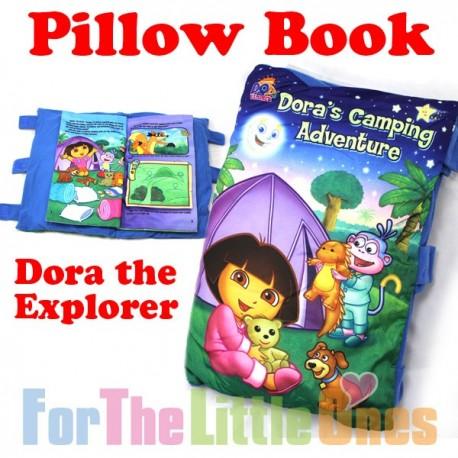 Dora The Explorer Soft Pillow Story Book