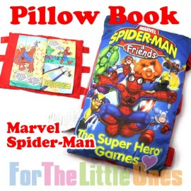 Marvel Spider Man Soft Pillow Story Book