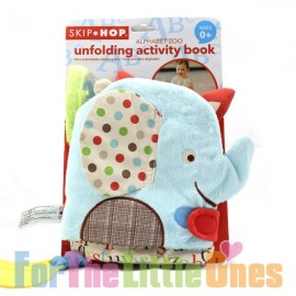 Skip Hop Alphabet Zoo Unfolding Activity Book