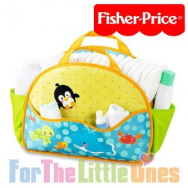Fisher Price Bath and Changing Caddy Portable Nappy Bag