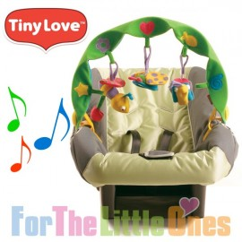Tiny Love Musical Take Along Arch for Pram/Carrier - Green Tropical