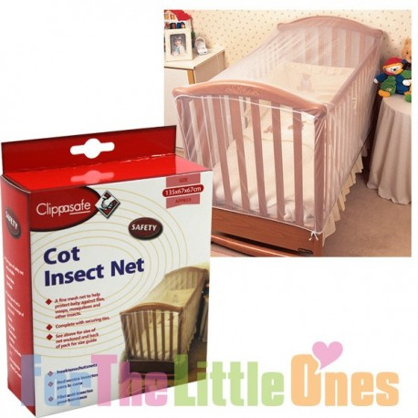 Clippasafe Baby Cot Insect Net