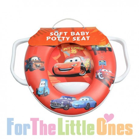 Disney Pixar Cars Soft Potty Toilet Training Seat For