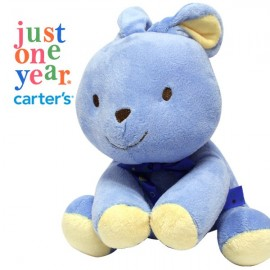 Carters Musical Blue Rabbit Soft Toy