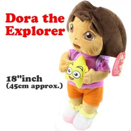 Dora the Explorer 45cm Large Soft Toy