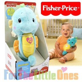 Fisher Price - Ocean Wonders - Soothe N Glow Seahorse - Blue