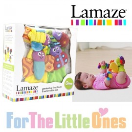 Lamaze Rattle Set 4 Piece Gardenbug Foot Finder and Wrist