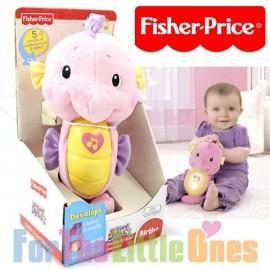 Fisher Price - Ocean Wonders - Soothe N Glow Seahorse - Pink