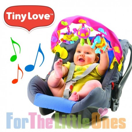 Tiny Love Musical Take Along Arch for Pram/Carrier - Pink Ocean