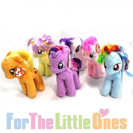 My Little Pony - Set of 6 Ponies Soft Toy